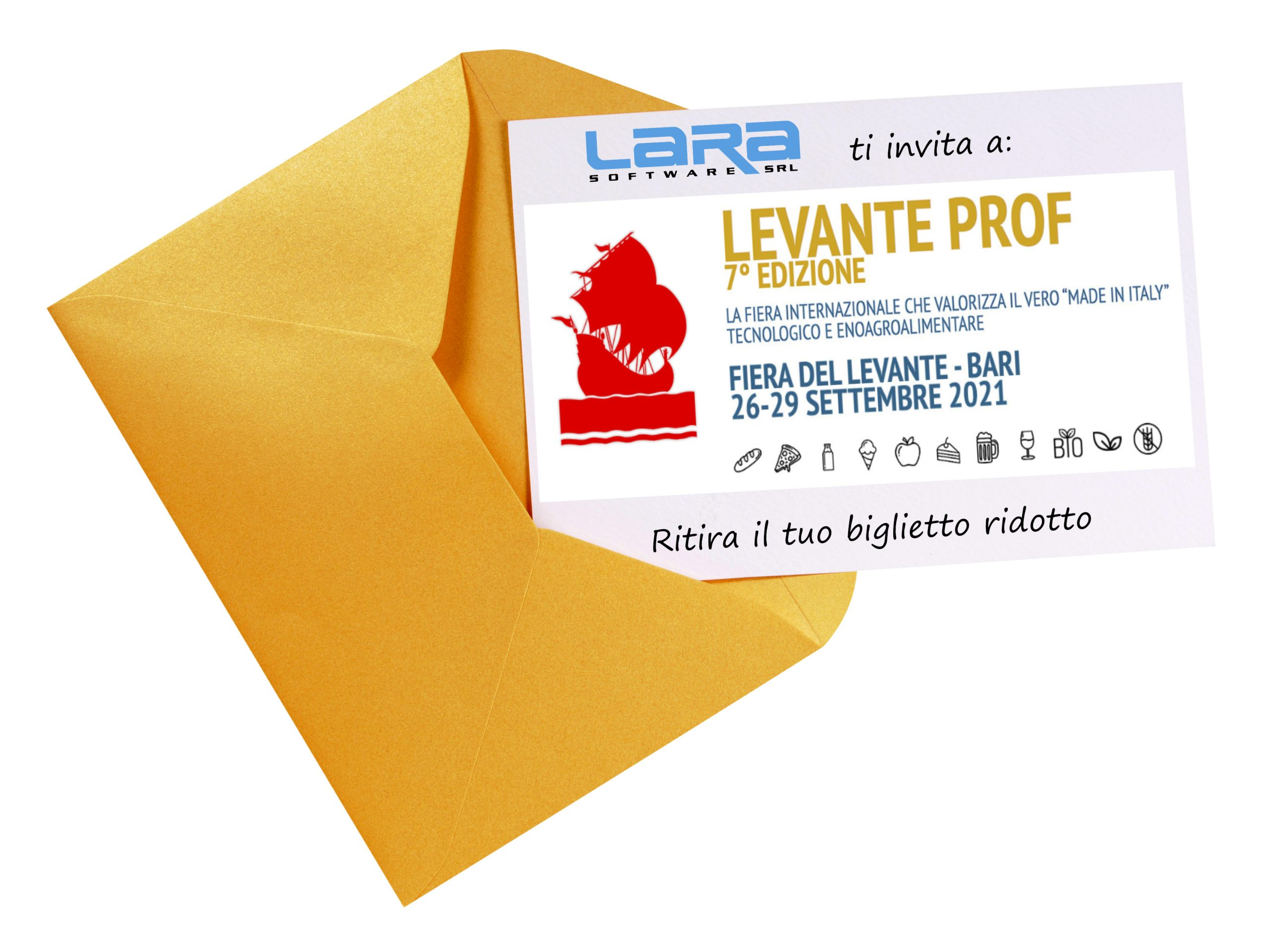 biglietto ridotto LEVANTE PROF